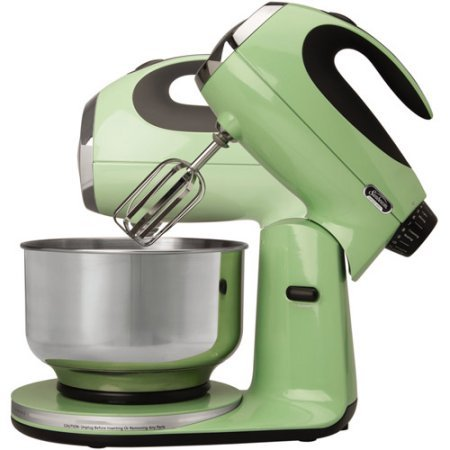 3-Way Mixing Action | Sunbeam Heritage Series Stand Mixer - (Seafoam Green) by Sunbeam