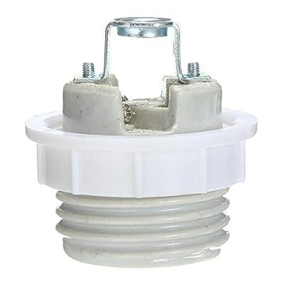 E27 Screw Ceramic Socket Heat Lamp Light Bulb Holder Fitting Base Adapter