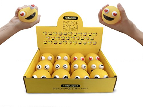Emoji Stress Balls Eye-Pop (12-Pack) 2.35