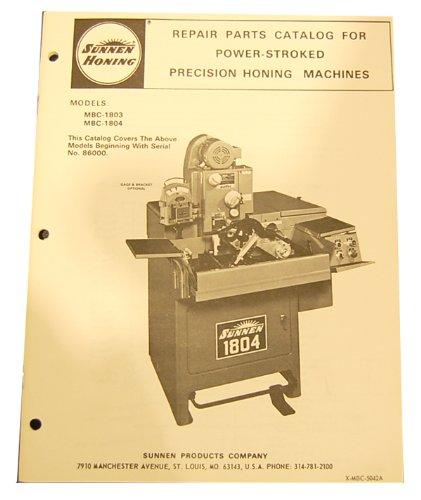 Machine Parts Catalog - 8