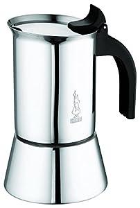 Bialetti Venus 2 Tassen Espressokocher Edelstahl