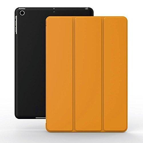 Super Slim Smart Cover Case for Apple iPad Air 1 (Black) - 5