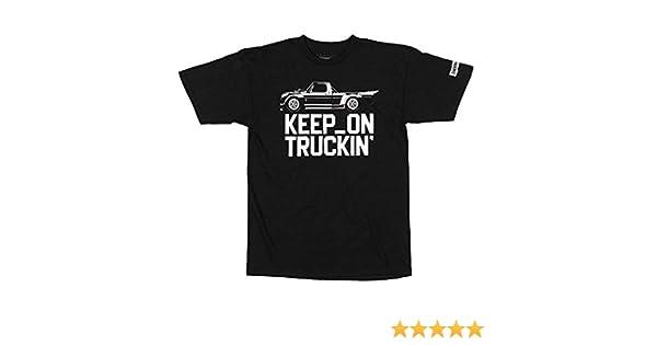 Hoonigan Keep on Truckin' Short Sleeve Graphic T-Shirt, for Drifting,  Mechanics, Car & Truck Lovers, Gear-Heads Gift  Black and White