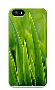 iPhone 5 5S Case Green Grass Closeup 3304 3D Custom iPhone 5 5S Case Cover