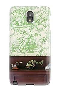 Unique Design Galaxy Note 3 Durable Tpu Case Cover Green Tartan In Child8217s Bedroom