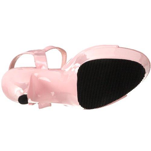 Pleaser Damen Kiss-209 Offene Sandalen Pink (B. Pink Pat/B. Pink)
