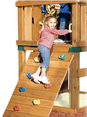 SWING N SLIDE NE 4543S CLIMBING ROCKS KIT