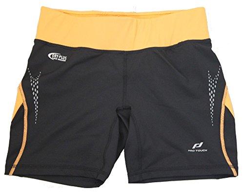 ca828e9a40 Pro Touch pantalón de running para mujer pantalones cortos de deporte Radyn  pantalón corto 228220 Negro