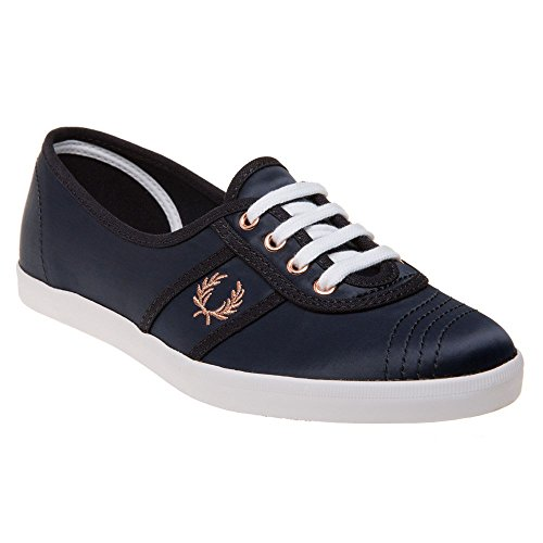 Fred Perry Aubrey Satin Womens Sneakers Blue Blue