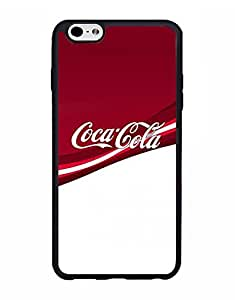 Classic Style Iphone 6s Plus (5.5 Inch) Hard Plastic Cell Phone Funda Case Luxury Series Classical Design Tough Ultra Thin Drop Protection Coca-Cola -Drink Cell Phone Cover For Women - Mewmewtat