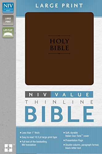 NIV-Value-Thinline-Bible-Large-Print-Imitation-Leather-Brown