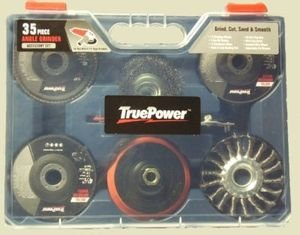 Angle Grinder Wire Wheel - Angle Grinder 35-pc. Deluxe Accessory Kit for 4-1/2