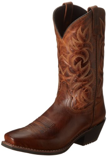 Laredo Men's Breakout Western Boot,Rust,12 XW - Brown Boots Cowboy Traditional