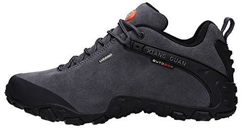 Pour Guan L'eau Xiang Rsistant Grises Gris De Chaussures Randonne Homme Extrieure Trekking Ffxfzw