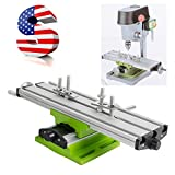 Funwill Shipping from USA Multifunction Milling Machine Cross Sliding Table Vise for DIY Lathe Bench Drill