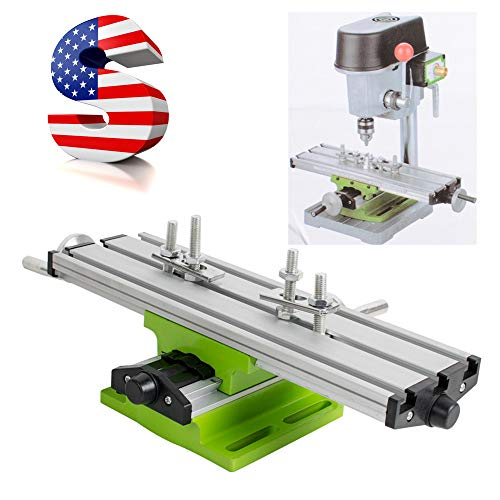Funwill Shipping from USA Multifunction Milling Machine Cross Sliding Table Vise for DIY Lathe Bench Drill by Funwill