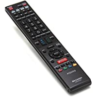 Sharp RRMCGB004WJSA Television Remote Control Genuine Original Equipment Manufacturer (OEM) Part