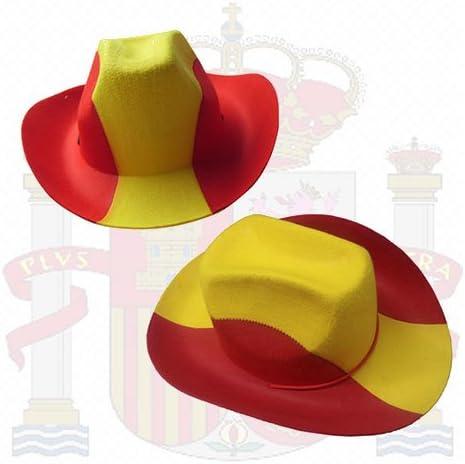 Sombrero Cowboy Bandera de España: Amazon.es: Electrónica