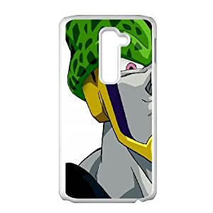 Dragon Ball Z Cell LG G2 Cell Phone Case White DIY GIFT pp001_8993538