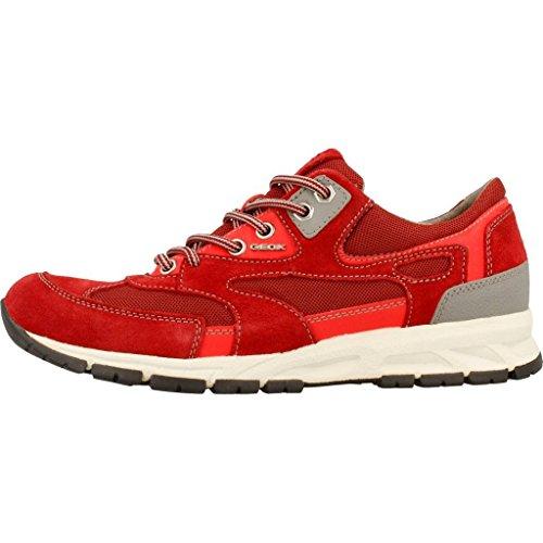 Calzado Deportivo para Hombre, Color Rojo, Marca Geox, Modelo Calzado Deportivo para Hombre Geox U Delray A Rojo