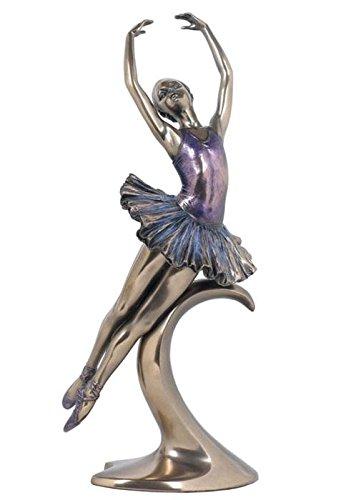 12.25 Inch Figure Ballerina Performing Pas De Poisson Collectible -
