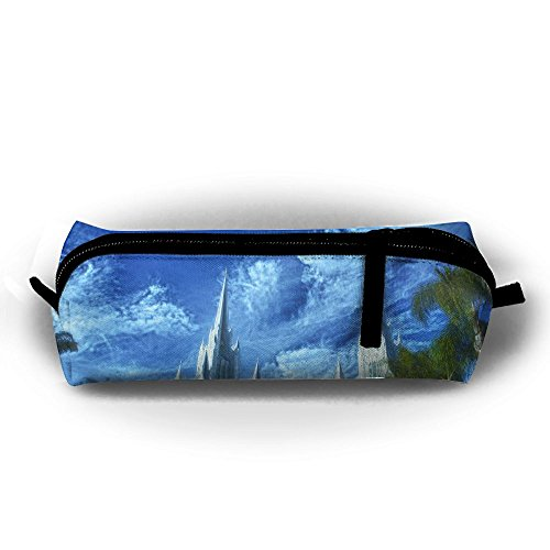 Rfhbjthir Frankie Foto Unisex Stationery Pouch Zipper Cosmetic Bags Cylindrical Purse