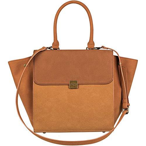 (Roxy Tan Lines Messenger Bag, 33 cm, Multicolour (Camel))