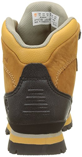 Timberland Unisex-Kinder Euro Hiker Chukka Boots Braun (Wheat)
