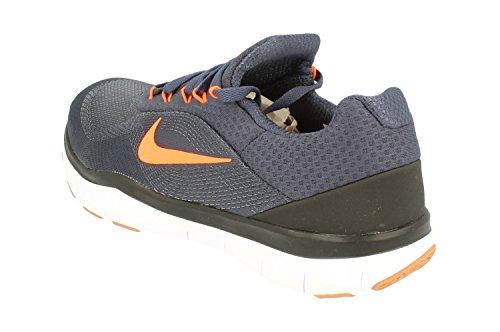 Nike Free Trainer V7 Mens Running Trainers 898053 Scarpe Da Ginnastica Scarpe Thunder Blue Hyper Crimson 403