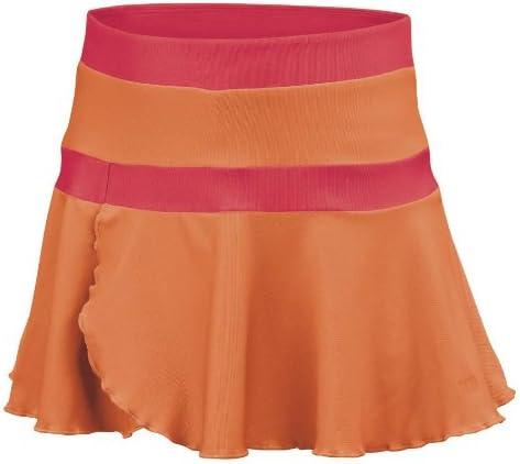 Wilson Sweet Success Falda de Tenis Chicas, Naranja, XS: Amazon.es ...