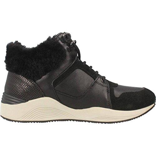 GeoxD Omaya E - Zapatillas Altas Mujer Negro