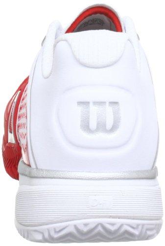 Wilson Rush Pro CC WRS316820E065 Herren Tennisschuhe Rot (Red)