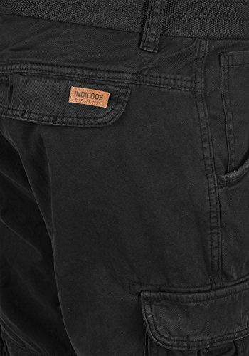 Cinturón Con Hombres De 100 Cortos Pantalones Cargo Black Costa Algodón Para fit Bermudas Pantalón Indicode Regular WHqTUzSwfx