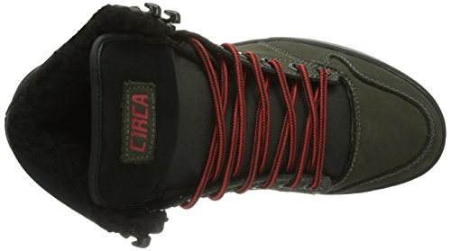 C1RCA Lurker - Zapatillas Unisex adulto Braun (DGFIF/ DARK GULL/ FIERY RED)
