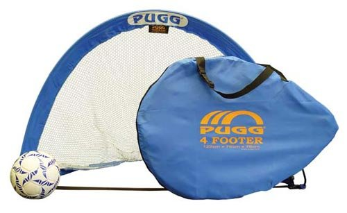 PUGG 4 Footer Portable Training Goal Set (Two Goals & Bag)