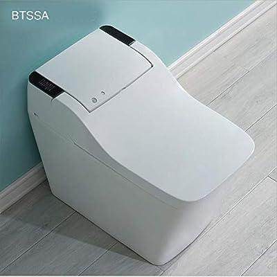 One-Piece Toilet with,Auto-Sensing flip Foam Rinse Home Smart Electric Toilet Bidet