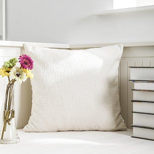 Kevin Textile Deluxe Plush Velvet Euro Pillo Sham Cushion Cover for Bed, 24