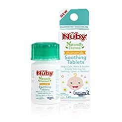 Nuby Chamomile Soothing Tablets, Quick D...