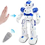 Rainbrace Smart Robot Toys Remote Control Robot,RC Robot for Kids,Robotic for Boy Toys 4 5 7 8 9 Years Old Boys Girls Kids Birthday Gift Present (Blue)