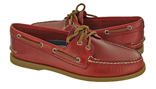 Sperry Top-Sider Men's Authentic Original Cyclone Boat Shoe,Red,11 M US