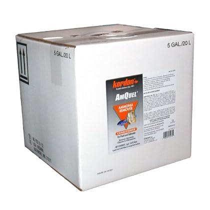 Image of KORDON #31275 AmQuel Ammonia Control & Detoxifies Chloramine for Aquarium, 5-Gallon Pet Supplies