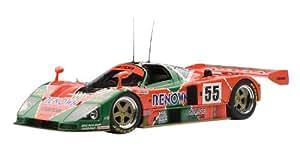 1991 Mazda 787B [AutoArt 89142], Ganadores Le Mans 1991, Weidler / Herbert / Gachot, #55 (Edición especial con trofeo), 1:18 Die Cast