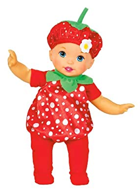 Little Mommy Sweet As Me Garden Party Strawberry Doll by Mattel