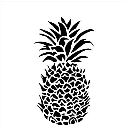 The Crafter's Workshop - Pineapple Stencil