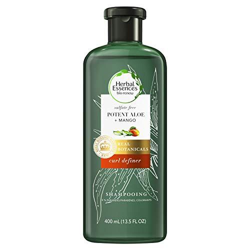 Herbal Essences bio: renew Potent Aloe + Mango Sulfate Free Shampoo for Curly Hair, 400 Milliliters