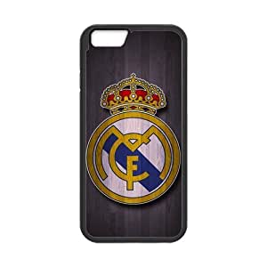 iPhone 6 Case, [Real Madrid CF] iPhone 6 (4.7) Case Custom Durable Case Cover for iPhone6 TPU case(Laser Technology) hjbrhga1544
