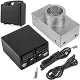 VEVOR Heat Press Plates 3X5 Inch Heat Press Kit 6061 Aluminum Plates Kit with Digital PID Temperature Controller Box and 2 X Heating Rods