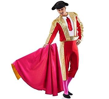 Disfraz de Torero Rojo para hombre: Amazon.es: Juguetes y juegos
