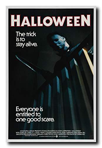 Mile High Media Halloween Movie Poster 24x36 Inch Wall Art Portrait Print