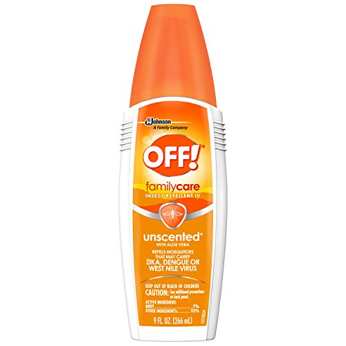 - OFF! FamilyCare Insect Repellent IV, Unscented, 9 oz, 1 ct